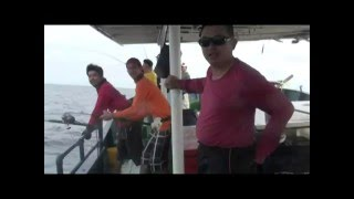 2011 Apr Miri Luconia Trip - Infinity Team - Jigging mission part 3/6 Mute
