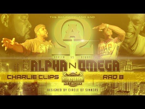 CHARLIE CLIPS VS RAD B | Udubb's Alpha N Omega Rap Battle