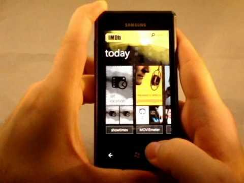 Samsung Omnia 7 Review - GSMDome.com