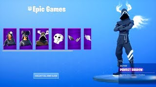 The *NEW* Fortnite Skin bundle is here..! (Shadows Rising Pack Showcase)