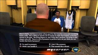 NBA 2K13 My Career: The NBA Draft (W/ Live Commentary)