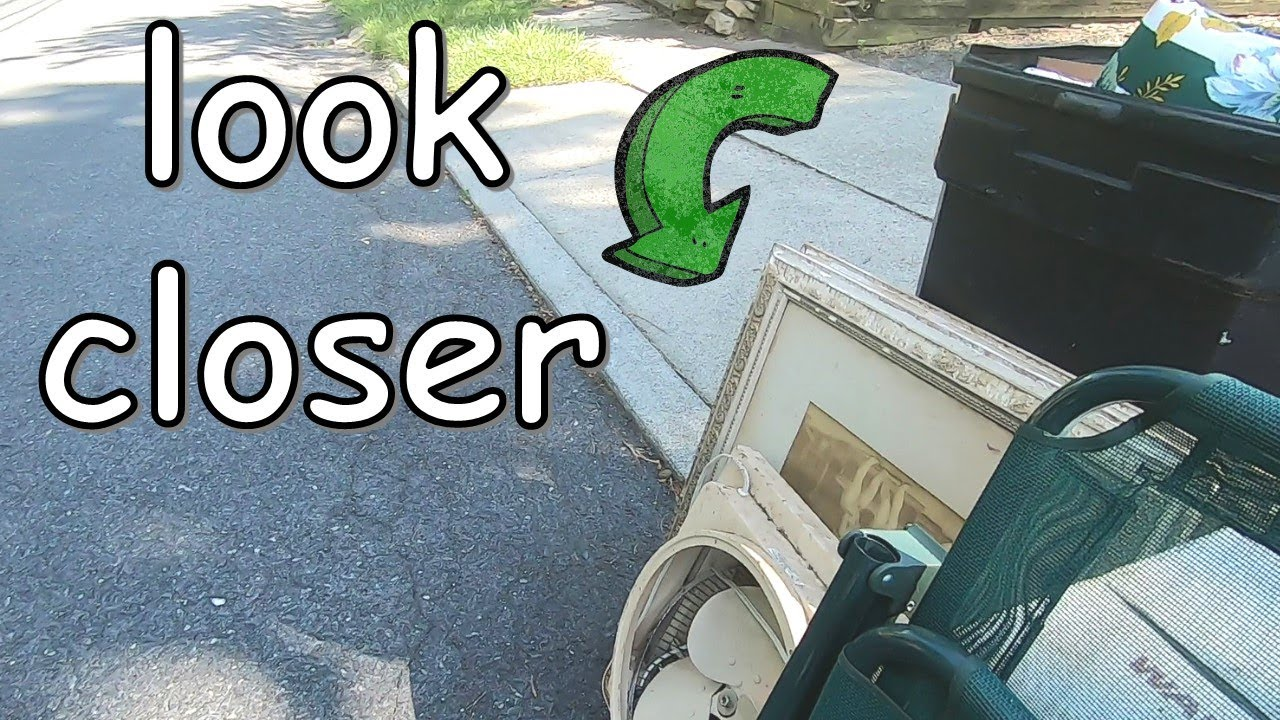 Hidden For Over 100 Years & Found In The Trash! Garbage Picking Ep. 39