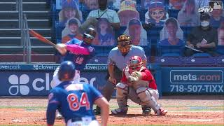 3/19/21: francisco lindor belts his first grand slam as a met, in spring training game against the st. louis cardinals. check out http://m.mlb.com/video fo...