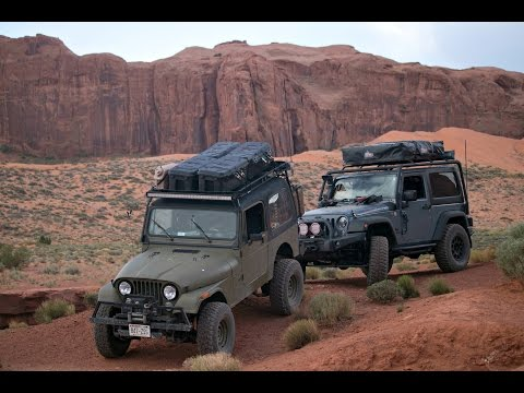 Monument Valley Jeep Exploring