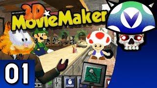 [Vinesauce] Joel - 3D Movie Maker ( Part 1 )