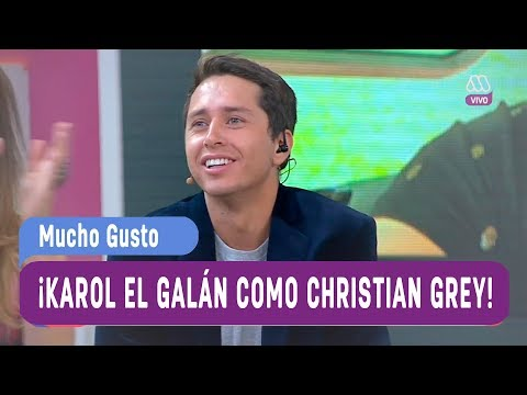 ¡Karol el galán como Christian Grey! - Mucho Gusto 2017