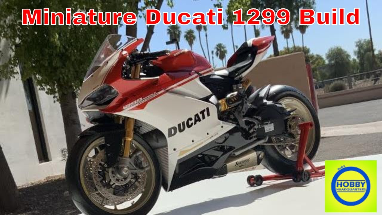 How its made, 1/4 Ducati 1299 Panigale Motorcycle model, { Giant Scale Super Detailed Model }