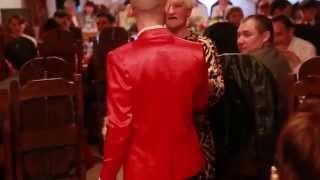 Бабка жжет на свадьбе Угар Прикол ржака танец