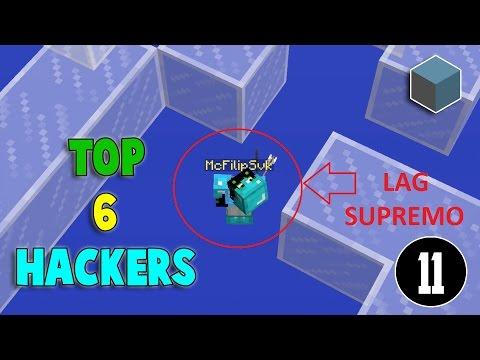 [CUBECRAFT] TOP 6 - HACKERS EN ACCION / EL ANTI KNOCKBACK DEL AÑO #11