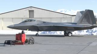 90th Fighter Squadron receives new flagship F-22