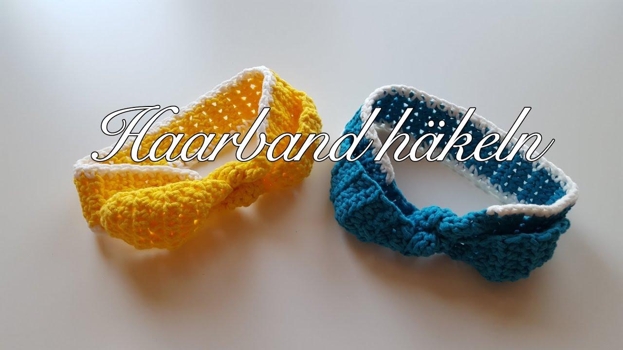 Haarband Häkeln Für Kinder Myboshi Hakui Haarband Häkelanleitung