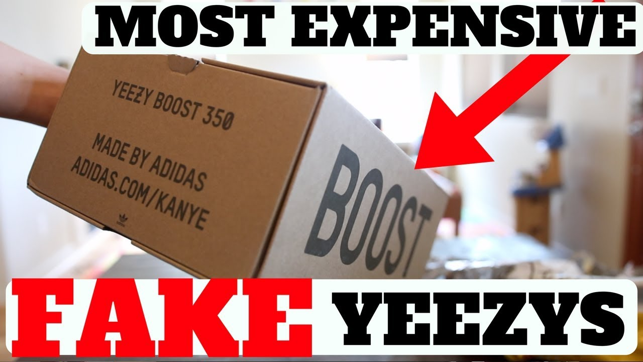 ab9a6d4f6d7 Unboxing The MOST EXPENSIVE FAKE YEEZYS. THIS IS WHAT I GOT... - YouTube
