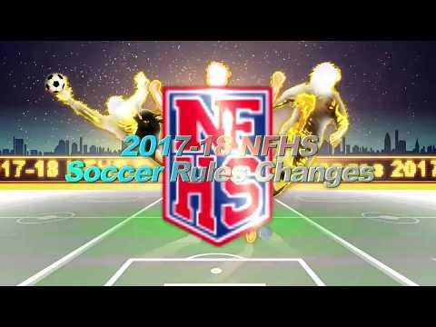 NFHS Soccer Rules Changes 2017 2018