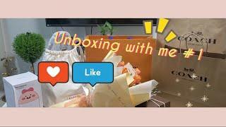 생일맞이 Unboxing 인생 첫 명품백⚘ 언박싱 같이…