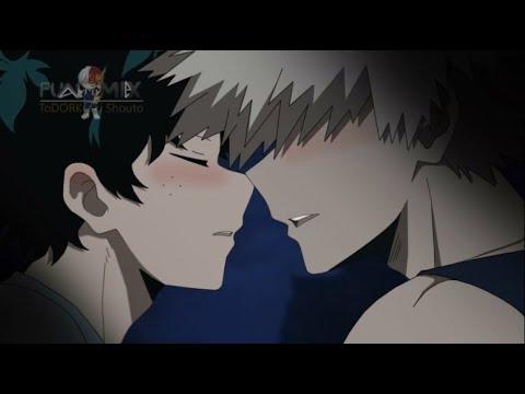 SFW Bakudeku Kiss