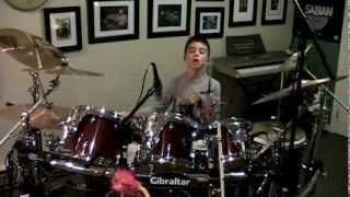 "Quinn Sullivan - ""Catch a Groove"" (drum cover)"
