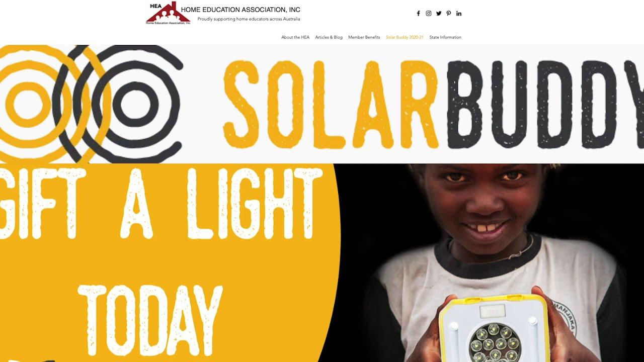 Solar Buddy for Home Educators