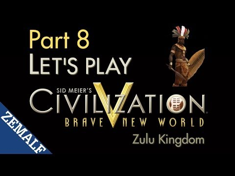 Let's Play Civ 5 BNW - Part 8 - Zulu, T126-133 [Immortal]