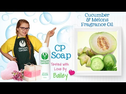 soap-testing-cucumber-&-melons-fragrance-oil--natures-garden