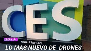 CES 2019, drones futuristas de alta tecnología