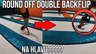 ROUND OFF DOUBLE BACKFLIP NA HLAVU? [KOLBENKA TRAINING #1]
