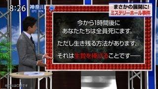 『生贄のジレンマ』スペシャルサポートアナウンサー長谷川豊アナによる...