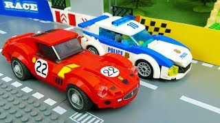 Lego Race . Speed Champions vs Police Car | Kids Cartoon |  Cars For Kids