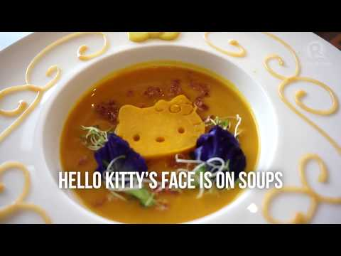 Check out the new Hello Kitty Cafe in Manila