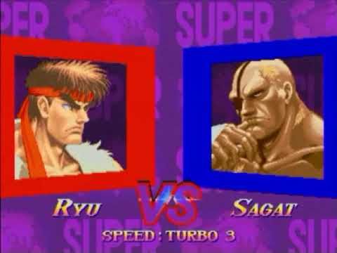 Super Street Fighter 2X :East vs West 2018/10/30 1/3