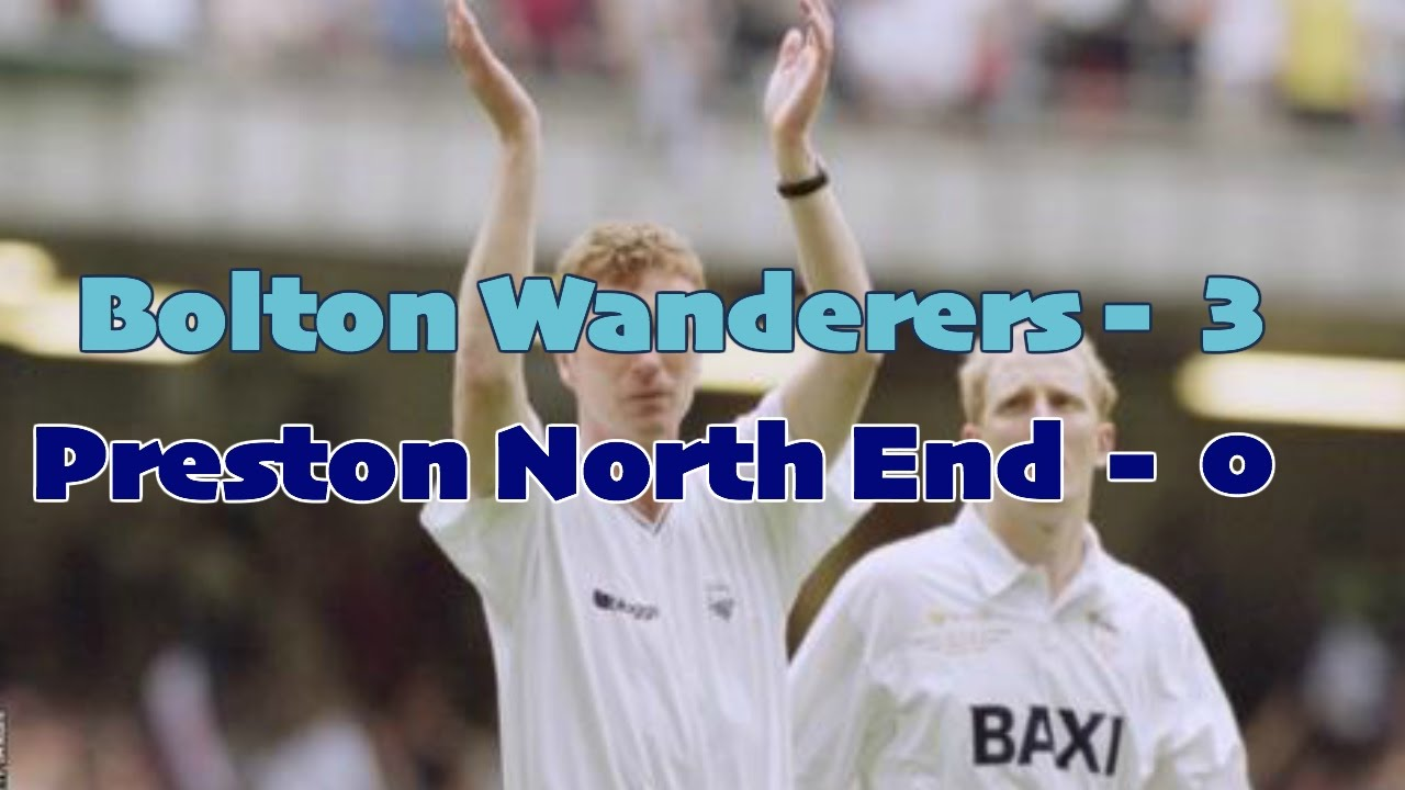 2001 division 1 play off final Bolton wanderers v Preston North end