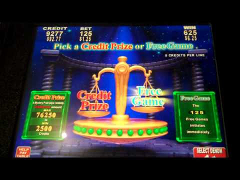 Electrifying Riches (Konami) With 125 Free Spins Take The Cash Prized Instead