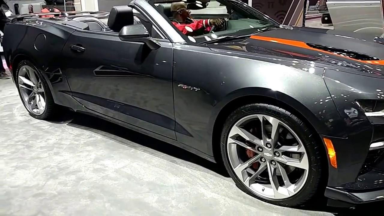 2017 Chevrolet Camaro 2ss Convertible Fifty New York International Auto Show