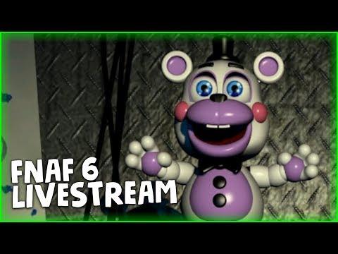 FNAF 6 LIVESTREAM | DAGames