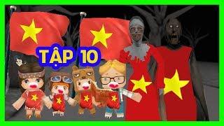 Phim Troll Hài Granny TẬP 10 | Bà Granny và Bà Valak Cùng Vời Các Cháu Đi Cổ Vũ Việt Nam Đá Bóng