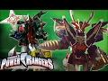 Power Rangers | All Power Rangers Super Megaforce Zord Fights!