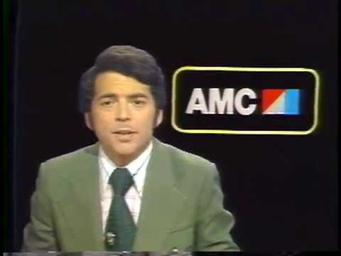 WTVJ / MIAMI - 1975 - Bob Mayer Goes  'Behind The Wheel' Of The AMC Pacer