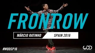 Márcio Ratinho | FrontRow | World of Dance Spain Qualifier 2016 | #WODSP16