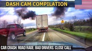 Dash Cam Compilation (USA) Car Crashes in America 2017   2018 # 27