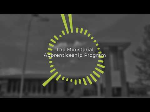 Why the Ministerial Apprenticeship Program?