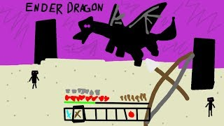 minecraft but it's draw really really badly...
