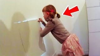 This Girl Discovers a Secret Door in Her Bedroom And Opens It As Her Father Looks On in Tears