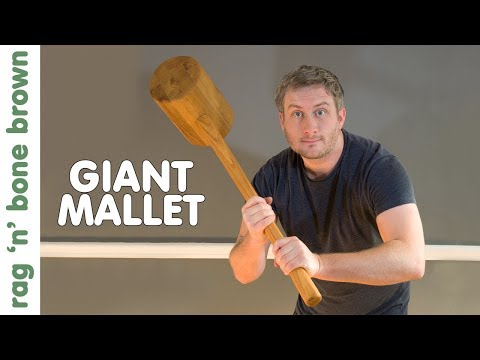 Making A Giant Mallet