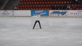 Vincent Zhou, FS 2017 Bavarian Open