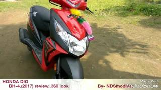 new 2017 honda dio bh4 360 look n review by ndsmodifier