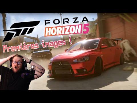 FORZA HORIZON 5 EST OFFICIEL ! - RÉACTION AU TRAILER ET 1ER GAMEPLAY