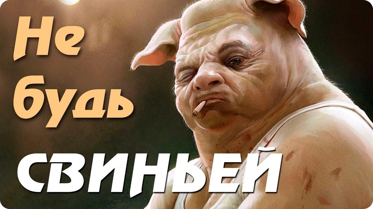 логотипе не будь свиньей будь человеком картинки можно