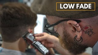 Low Fade Men's Haircut | New York Barbers