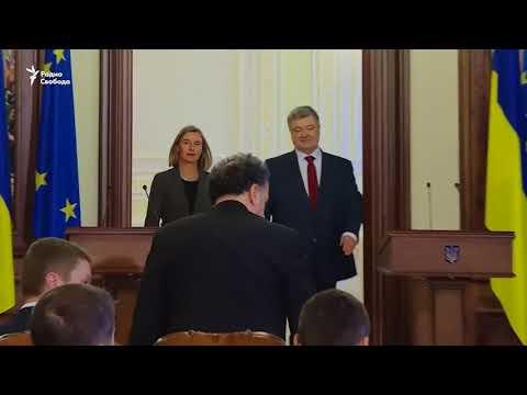 Петр Порошенко пообещал ввести санкции за выборы президента России в Крыму