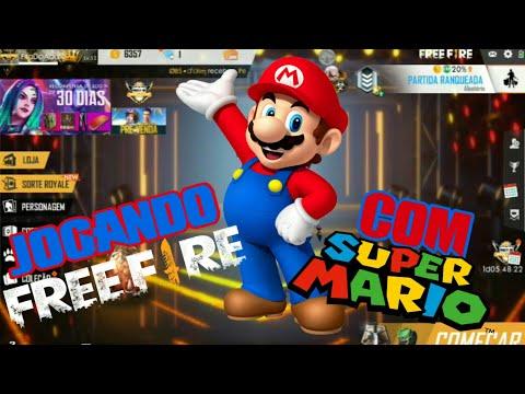 Free Fire - Jogando Com O Super Mario (A Edição Saiu Bosta, Mas Ta Valendo)