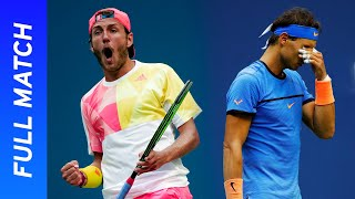 Lucas Pouille vs Rafael Nadal in a five-set thriller! | US Open 2016 Round 4